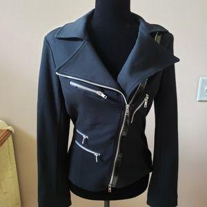 LKNW Cache MOTO blazer jacket black Small